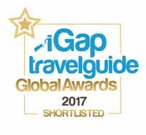 Luxury Travel Guide 2017 Award Winner